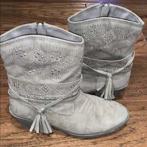 Justice Cowgirl Boots, Size 5